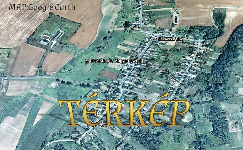 Térkép Zselickisfalud